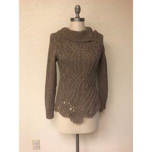 Anthropologie Moth Wool Sweater